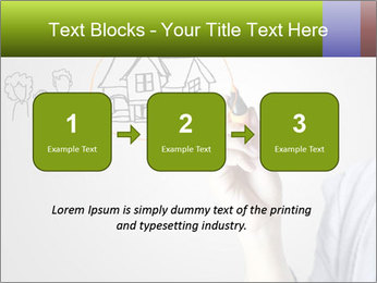 Hand drawing house PowerPoint Template - Slide 71