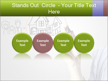 Hand drawing house PowerPoint Template - Slide 76