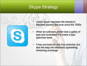 Hand drawing house PowerPoint Template - Slide 8