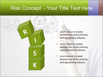 Hand drawing house PowerPoint Template - Slide 81