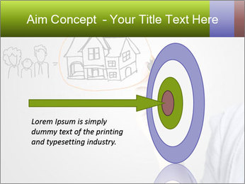 Hand drawing house PowerPoint Template - Slide 83