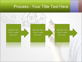 Hand drawing house PowerPoint Template - Slide 88