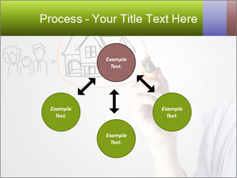 Hand drawing house PowerPoint Template - Slide 91