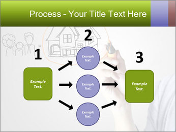 Hand drawing house PowerPoint Template - Slide 92
