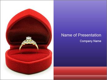 Luxury Diamond PowerPoint Templates - Slide 1