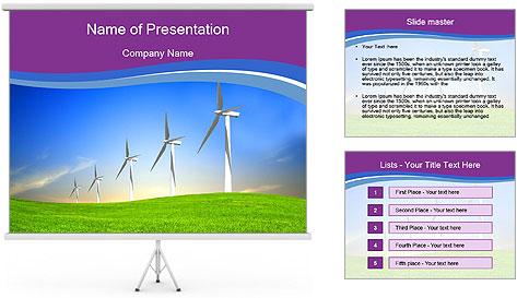 Eco Energy PowerPoint Template