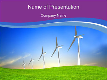 Eco Energy PowerPoint Templates - Slide 1