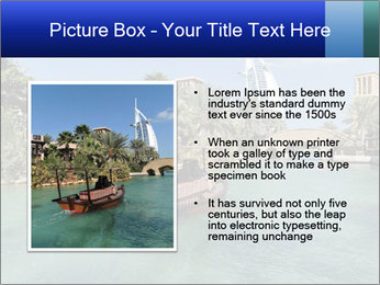 View of  Dubai PowerPoint Templates - Slide 13