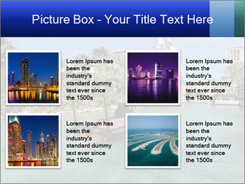 View of  Dubai PowerPoint Templates - Slide 14