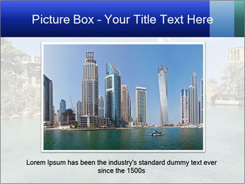 View of  Dubai PowerPoint Templates - Slide 16