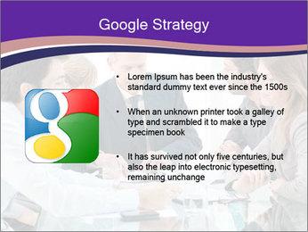 Mature businessman working PowerPoint Template - Slide 10