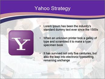 Mature businessman working PowerPoint Template - Slide 11