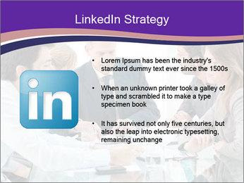 Mature businessman working PowerPoint Template - Slide 12