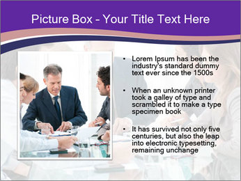 Mature businessman working PowerPoint Template - Slide 13