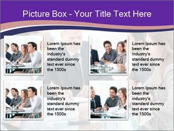 Mature businessman working PowerPoint Template - Slide 14
