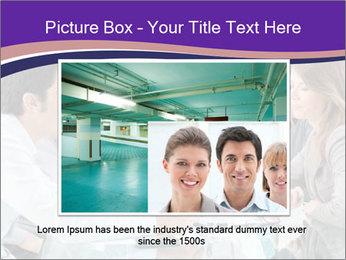Mature businessman working PowerPoint Template - Slide 15