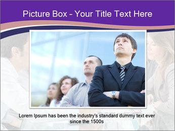 Mature businessman working PowerPoint Template - Slide 16