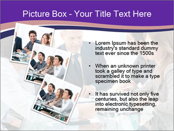 Mature businessman working PowerPoint Templates - Slide 17