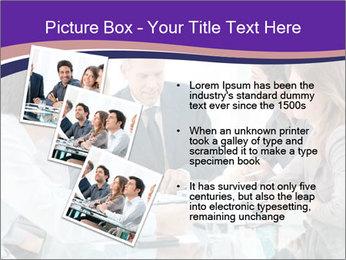 Mature businessman working PowerPoint Template - Slide 17
