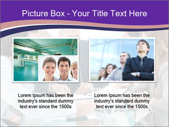 Mature businessman working PowerPoint Template - Slide 18