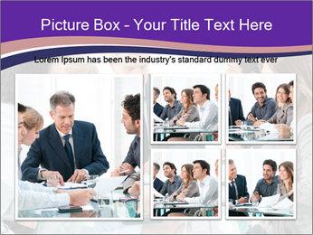 Mature businessman working PowerPoint Template - Slide 19