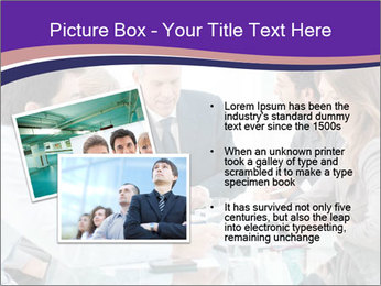 Mature businessman working PowerPoint Template - Slide 20