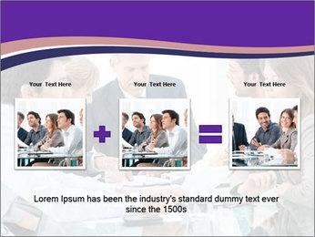 Mature businessman working PowerPoint Template - Slide 22