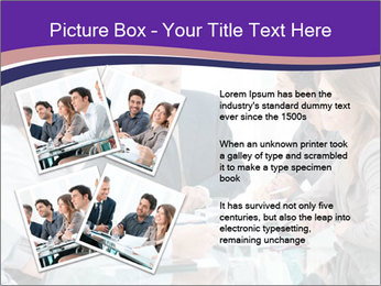 Mature businessman working PowerPoint Template - Slide 23