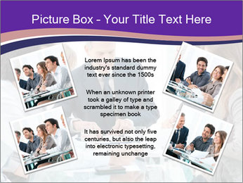 Mature businessman working PowerPoint Template - Slide 24