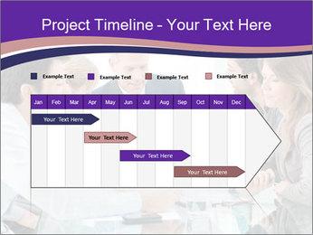 Mature businessman working PowerPoint Template - Slide 25