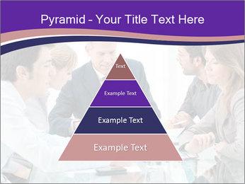 Mature businessman working PowerPoint Template - Slide 30