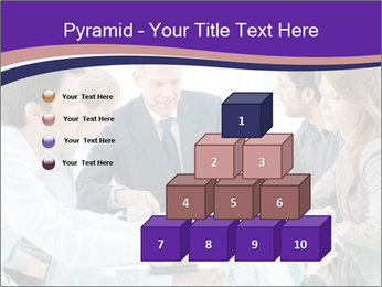 Mature businessman working PowerPoint Templates - Slide 31