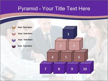 Mature businessman working PowerPoint Template - Slide 31