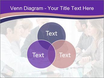 Mature businessman working PowerPoint Template - Slide 33