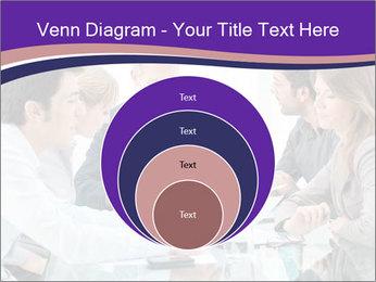 Mature businessman working PowerPoint Template - Slide 34