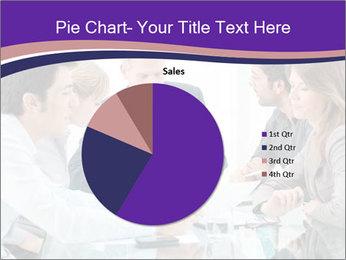 Mature businessman working PowerPoint Template - Slide 36
