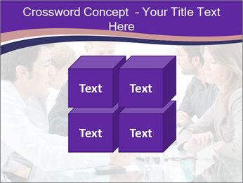 Mature businessman working PowerPoint Template - Slide 39