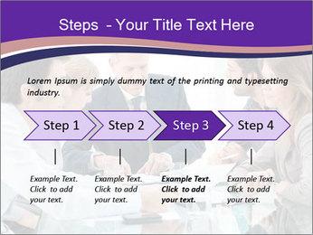 Mature businessman working PowerPoint Template - Slide 4