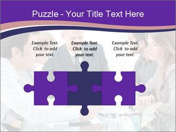 Mature businessman working PowerPoint Template - Slide 42