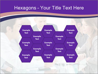 Mature businessman working PowerPoint Template - Slide 44
