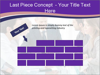 Mature businessman working PowerPoint Templates - Slide 46