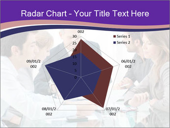 Mature businessman working PowerPoint Template - Slide 51