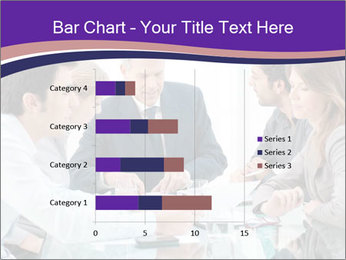 Mature businessman working PowerPoint Template - Slide 52