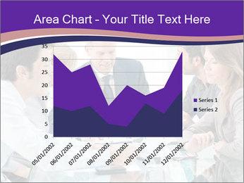 Mature businessman working PowerPoint Template - Slide 53