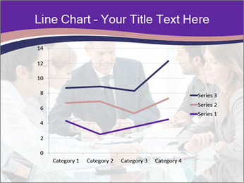 Mature businessman working PowerPoint Template - Slide 54
