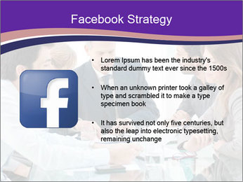 Mature businessman working PowerPoint Template - Slide 6