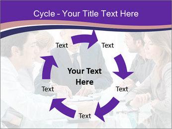 Mature businessman working PowerPoint Template - Slide 62