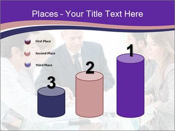 Mature businessman working PowerPoint Template - Slide 65