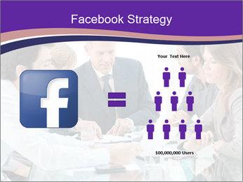 Mature businessman working PowerPoint Template - Slide 7