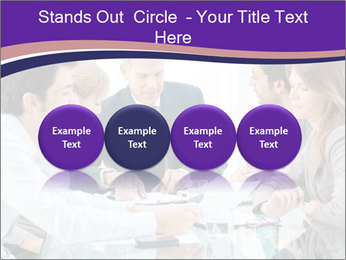 Mature businessman working PowerPoint Template - Slide 76